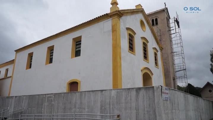 Paróquia Senhor Bom Jesus dos Aflitos, patrimônio histórico de Porto Belo, é restaurada