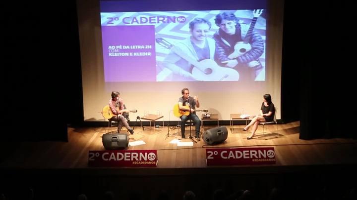 Kleiton e Kledir cantam sucessos em evento de Zero Hora