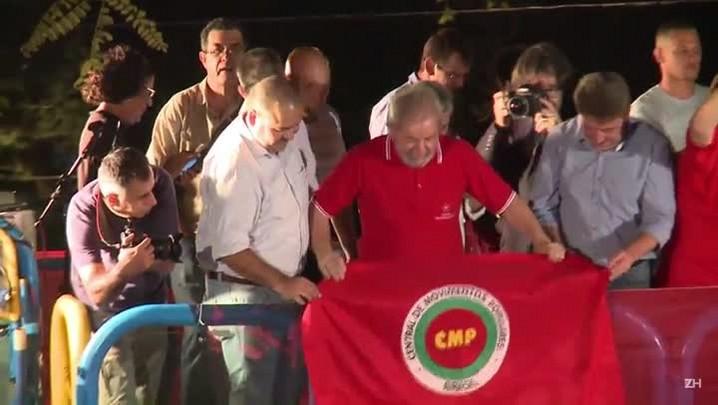 Lula: 'Temer, quer ser presidente? Disputa eleição meu filho'