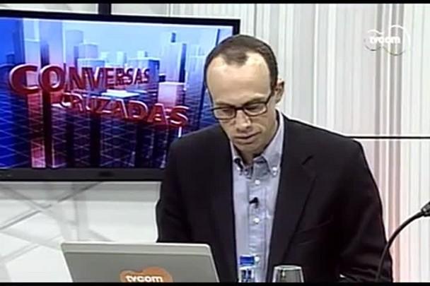 TVCOM Conversas Cruzadas. 3º Bloco. 01.08.16