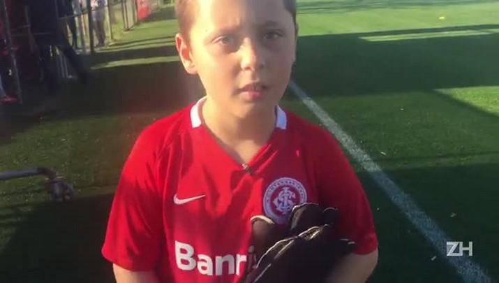 """Enrico fala sobre confusão na entrada em campo com o Inter: \""""Foi um menino no meu lugar\"""""""