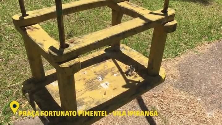 Veja como está a situação da Praça Fortunato Pimentel