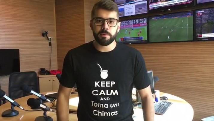 Diori Vascondelos analisa arbitragem de Inter e Fluminense