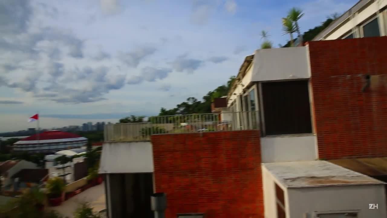 Conheça o edifício construído como uma escada no Morro Santa Tereza