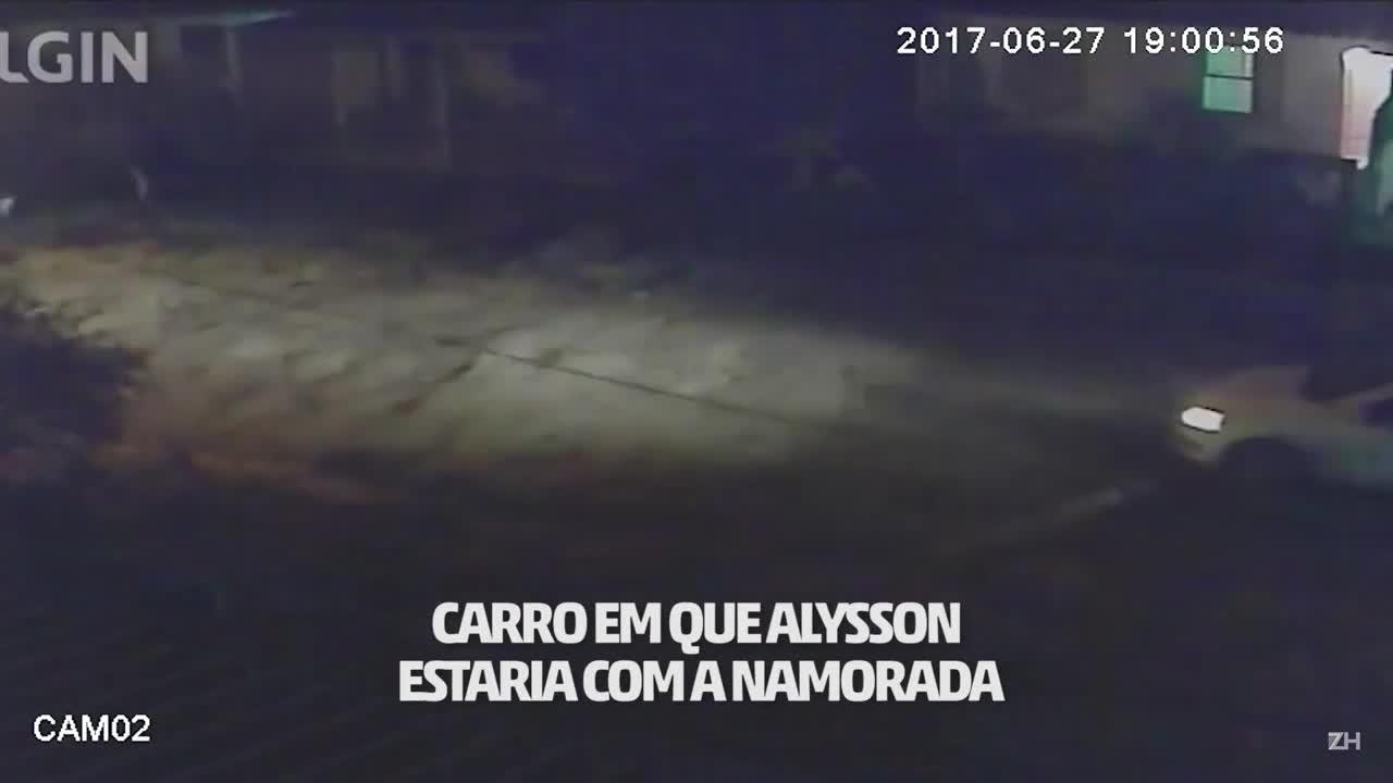 Imagens mostram criminosos fugindo após matar jovem em Porto Alegre