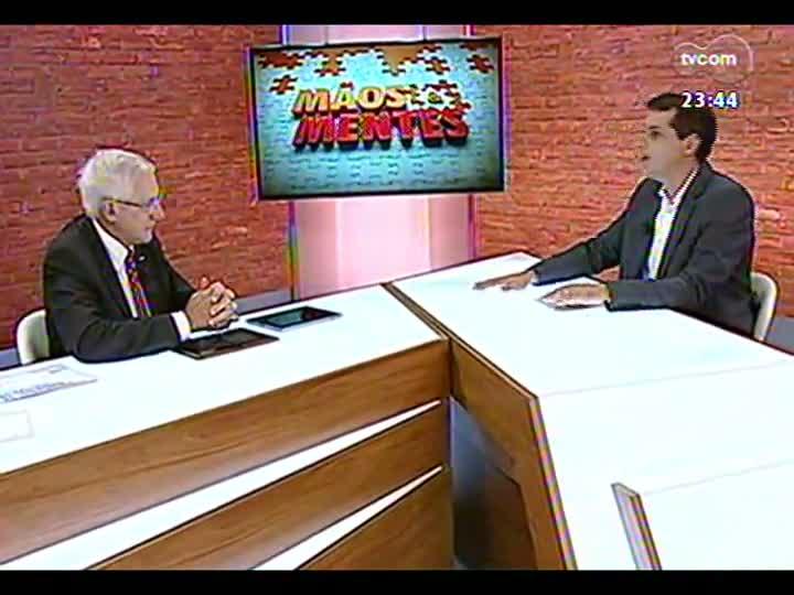 Mãos e Mentes - presidente do Sinepe/RS, Osvino Toillier - 25/01/2013 - bloco 2