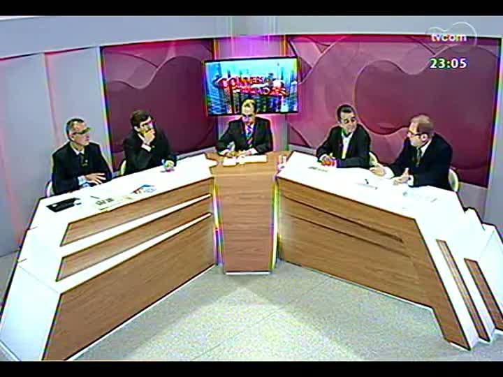 Conversas Cruzadas - Aplicação de verbas do orçamento para a segurança pública - Bloco 1 - 07/02/2013