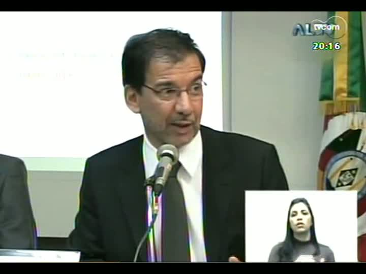 TVCOM 20 Horas - Diretor-geral do Tribunal da Justiça, Omar Amorim, fala da situação financeira do Estado - Bloco 3 - 09/05/2013