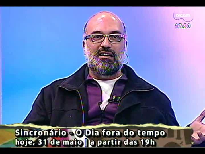 Programa do Roger - Produtora Laura Leão e ator Leo Maciel falam sobre projeto Sincronário - bloco 2 - 31/05/2013