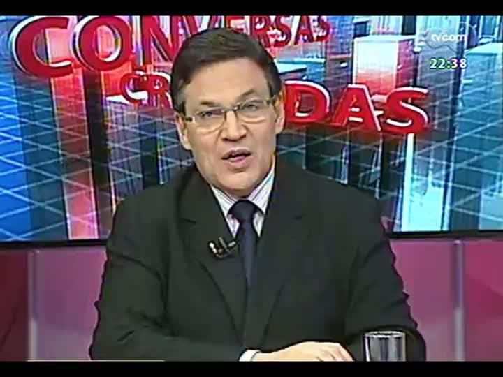 Conversas Cruzadas - Soma de fraudes descobertas do RS: aumento da corrupção ou investigações mais eficientes? - Bloco 2 - 11/06/2013