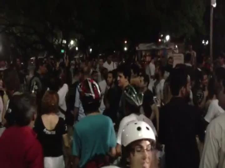Confira imagens da manifestação em Recife. 17/06/2013