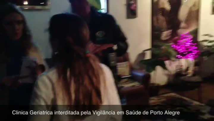 Clínica geriátrica é interditada por irregularidades em Porto Alegre - 19/07/2013