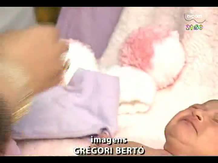 TVCOM Tudo Mais - A arte de retratar o recém-nascido nos primeiros dias de vida