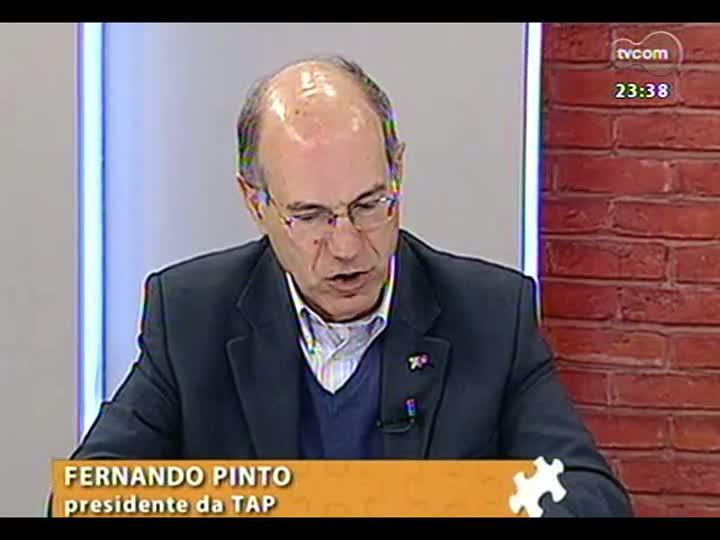 Mãos e Mentes - Presidente da companhia aérea TAP, Fernando Pinto - Bloco 4 - 01/09/2013