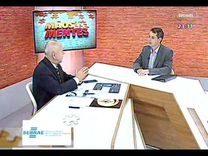 Mãos e Mentes - Superintendente do Centro de Excelência Empresarial, Paulo Tadeu Löw Bandeira - Bloco 1 - 07/10/2013