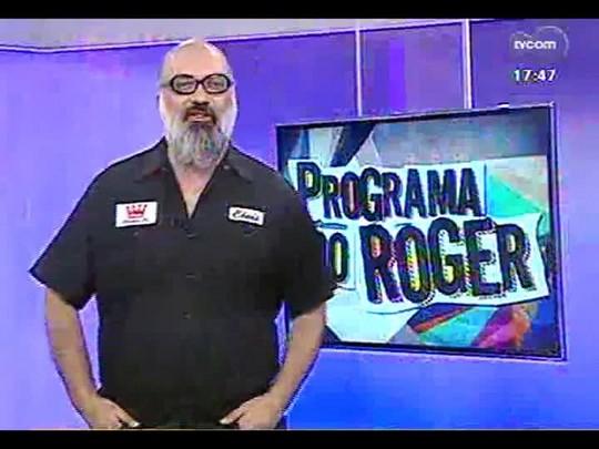 Programa do Roger - Banda Rafuagem: Rappers Rafa e Ricky, Cantora Eli e DJ Crocko - Bloco 1 - 14/03/2014