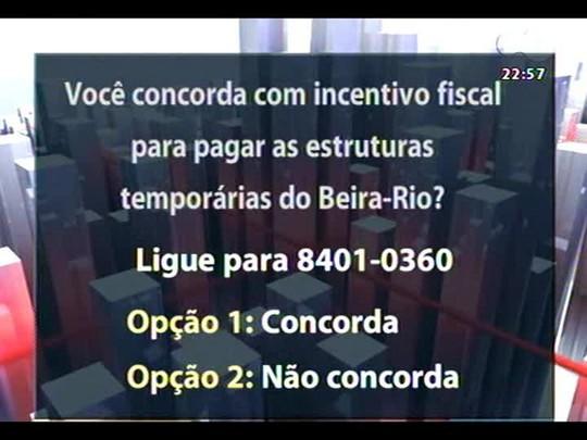 Conversas Cruzadas - Debate sobre a possibilidade de Porto Alegre perder a Copa do Mundo - Bloco 3 - 24/03/2014