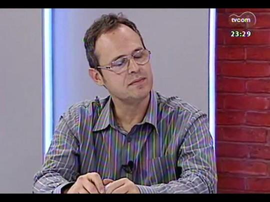 Mãos e Mentes - Repórter especial de ZH e autor do livro \'Coligay - Tricolor e de Todas as Cores\' Léo Gerchmann - Bloco 2 - 14/05/2014