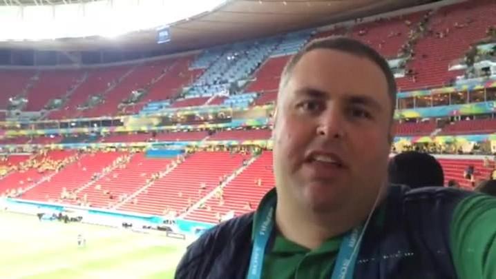 Gigante na Copa: Torcedores falam sobre a vitória do Brasil e a surpresa Fernandinho