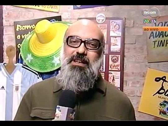 TVCOM Tudo Mais - Programa especial com apresentação de Roger Lerina, diretamente do Bar dos Fanáticos - 23/062014