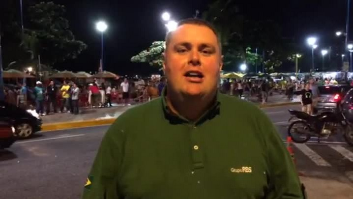 Gigante na Copa: torcida da Colômbia mostra otimismo para pegar o Brasil