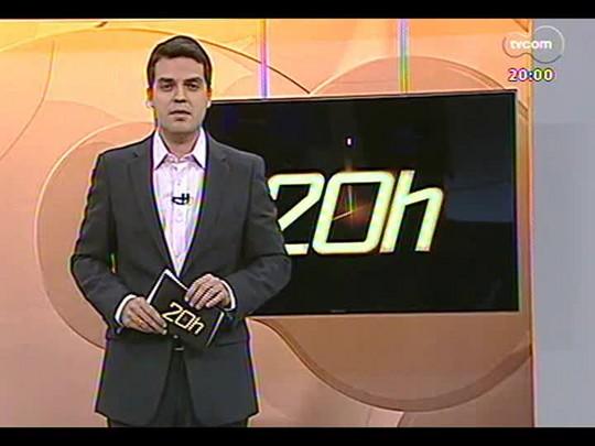 TVCOM 20 Horas - Entrevista com o candidato a governador José Ivo Sartori do PMDB - Bloco 1 - 06/08/2014