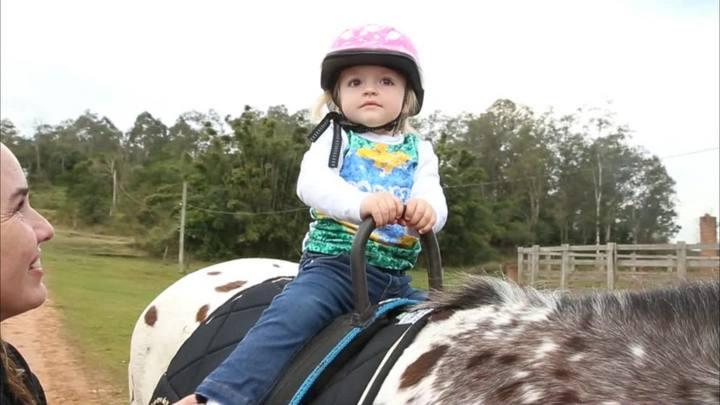 O que as crianças podem aprender com a equitação lúdica