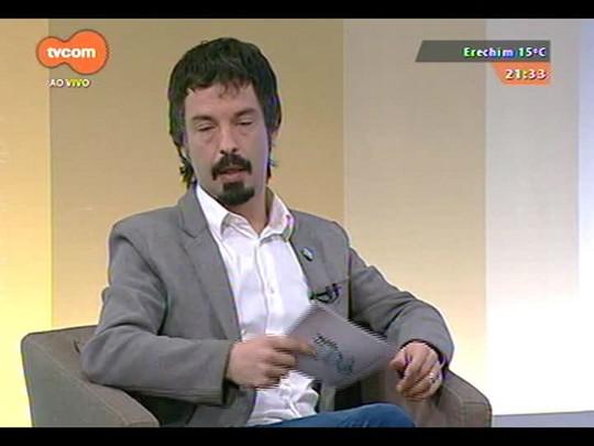 TVCOM Tudo Mais - Airton Ortiz, Zilá Bernd e Regina Zilbermann falam sobre Feira do Livro e Moacyr Scliar