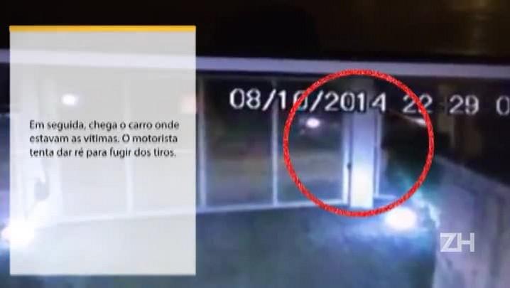 Imagens mostram triplo assassinato em Porto Alegre