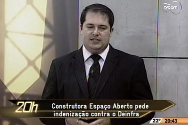 TVCOM 20h - recisão de contrato Hercílio Luz - 3°Bloco - 22.10.14