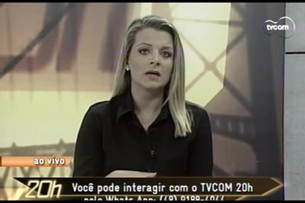 TVCOM 20 Horas - Trânsito intenso no período de festas - 23.12.14