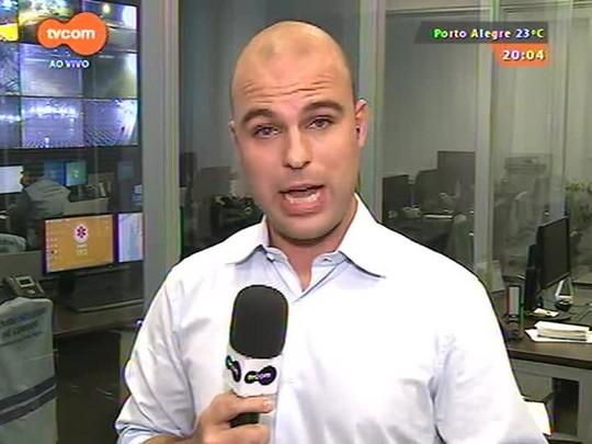 TVCOM 20 Horas - Promulgada lei que obriga todos os ônibus da capital a terem ar condicionado - 01/04/2015