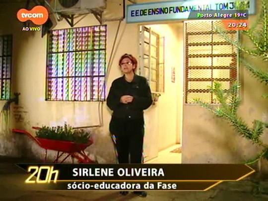 TVCOM 20 Horas - Especial Dia do Trabalho: professora fala da sua rotina