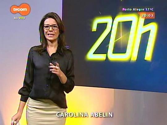 TVCOM 20 Horas - Bombeiros são julgados pela tragédia da boate Kiss - 02/06/2015