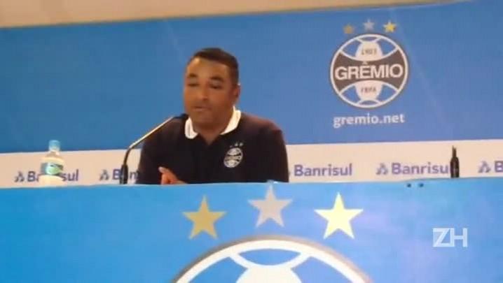 Roger Machado fala sobre empate do Grêmio