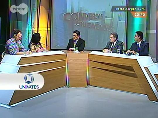 Conversas Cruzadas - Debate sobre os Projetos de Lei na Câmara Municipal de Porto Alegre - Bloco 4 - 24/09/2015