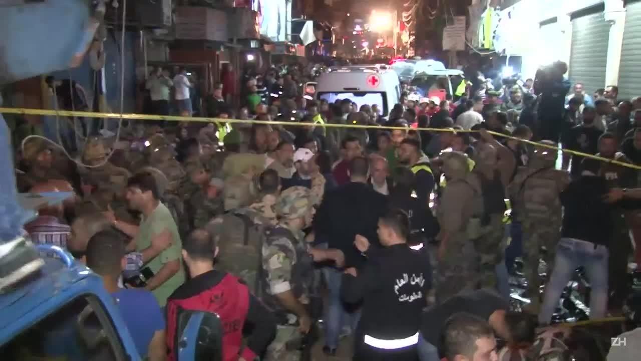 Atentado deixa 41 mortos no L?bano