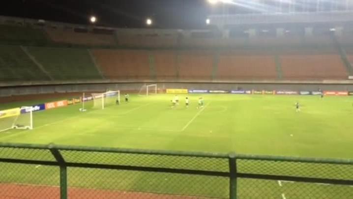 Brasil encerra preparação para enfrentar o Peru.