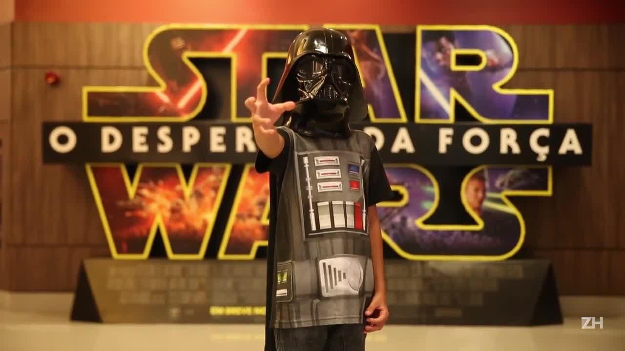 Star Wars volta aos cinemas