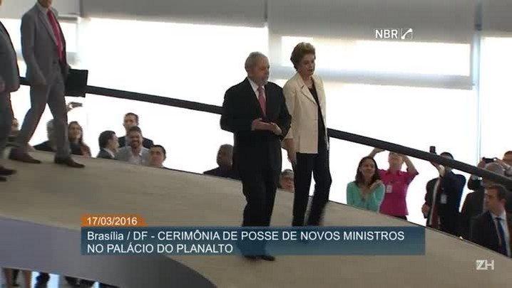Assista na integra a posse de Lula como Ministro-chefe da Casa Civil