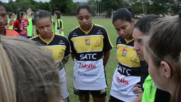 Conheça parte da equipe de futebol de Criciúma que irá representar SC na 1ª Liga de Futebol Feminino Sub-20