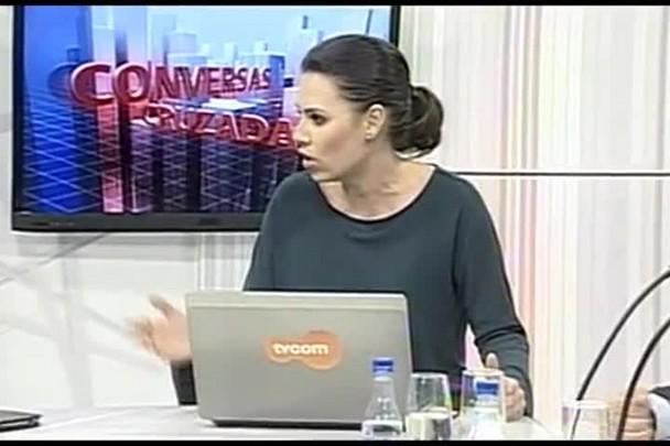 TVCOM Conversas Cruzadas. 3º Bloco. 09.05.16