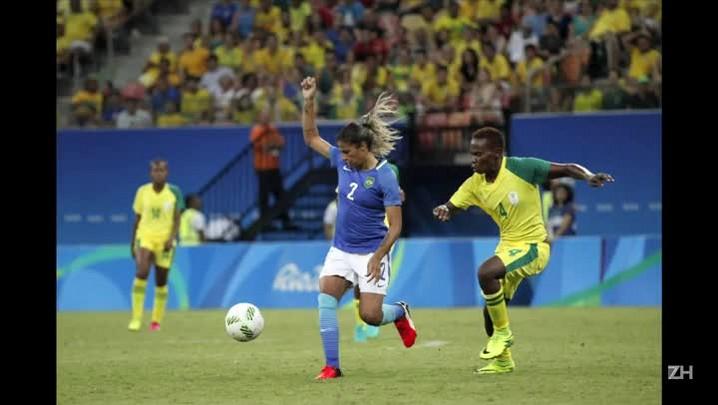 Brasil fica no 0-0 com África do Sul