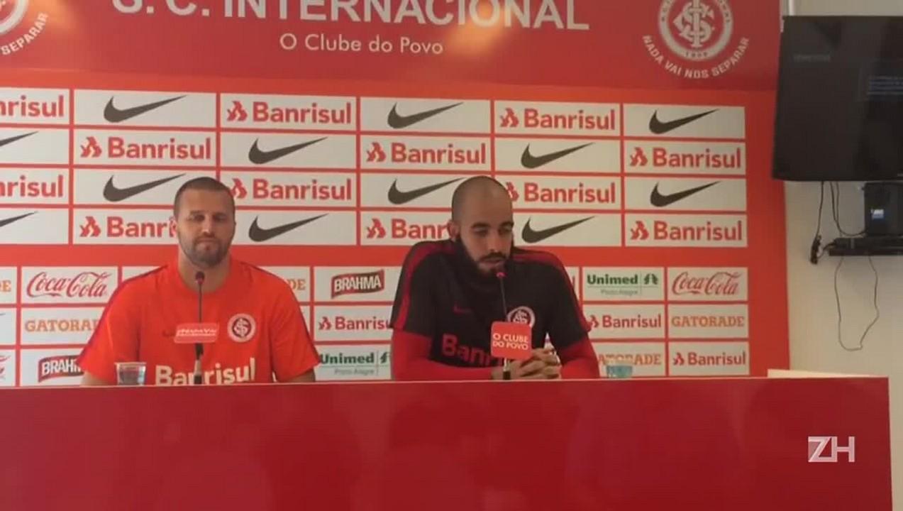 Danilo Fernandes fala sobre propostas e permanência no Inter