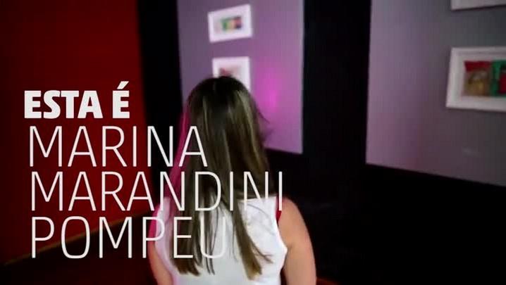 A história de Marina Pompeu, graduada com nota máxima em Artes Visuais na Furg