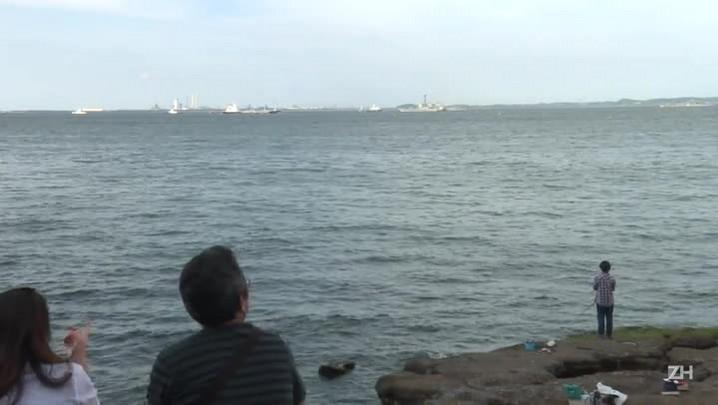 Marinheiros desaparecidos após acidente com destróier