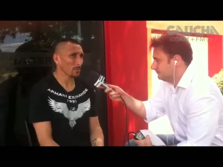 Guiñazu e o sonho de jogar a Copa no Beira-Rio