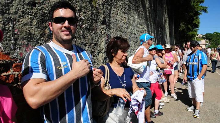 Torcedores do Grêmio se despedem mais uma vez do Olímpico, agora no show da Madonna