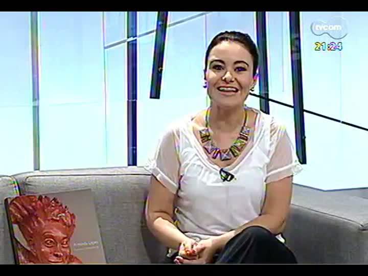 TVCOM Tudo Mais - Escultora Arminda Lopes fala sobre sua trajetória