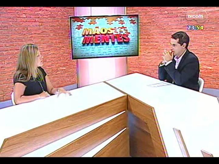 Mãos e Mentes - Gerente da Lee Hecht Harrison/DBM, unidade Porto Alegre, Rose Russowski - Bloco 3 - 20/02/2013